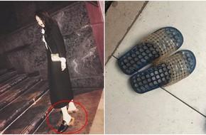 Hà Nội: Xỏ dép Gucci 24 triệu đi làm móng, ra về cô gái tá hỏa khi hàng hiệu bỗng