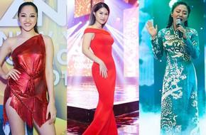 Bảo Anh, Văn Mai Hương, Ngọc Thanh Tâm khoe vẻ quyến rũ chào đón năm mới