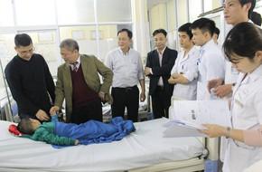 Tiếp nhận 5 bệnh nhân tai nạn giao thông, nhồi máu cơ tim vào thời khắc giao thừa vì rượu bia