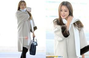 Mỹ nhân không tuổi Kim Hee Sun lên đường sang Milan dự tuần lễ thời trang