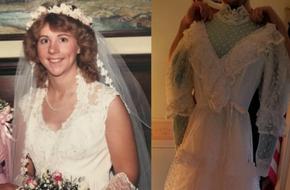 Mở hộp váy cưới của mẹ từ 32 năm trước, cô gái phát hiện điều sai trái nhưng không ngờ mạng xã hội đã