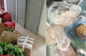 Hết Tết, sinh viên thi nhau khoe ảnh chụp cả núi thức ăn bố mẹ trang bị mang ra phòng trọ 'chống đói'