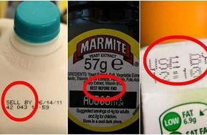 Các mẹ thường xuyên đi siêu thị mua đồ, nhớ tìm hiểu kỹ những ký hiệu này trên bao bì để không bao giờ lãng phí thức ăn