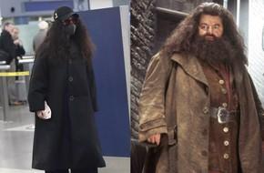 Trang phục lùng bùng, tóc xoăn xù khó tả, nhìn Phạm Băng Băng cứ như bản sao của nhân vật Hagrid trong Harry Potter