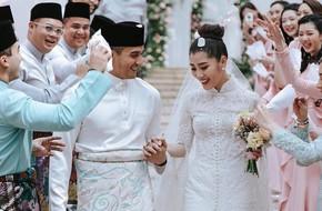 Có gì ở đám cưới cực kì xa hoa của 'người thừa kế' xứng đôi nức tiếng hội con nhà giàu Châu Á