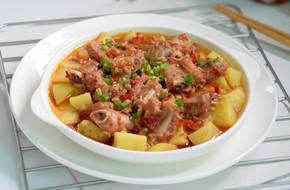 Sườn hấp khoai tây món ngon dễ làm