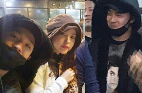 Taeyang tủm tỉm xấu hổ, Min Hyo Rin mặc nguyên chiếc áo khoác từ hôm sau cưới đi hưởng tuần trăng mật ở Jeju