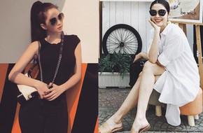 Trước nghi vấn bầu bí lần 3, Tăng Thanh Hà vẫn một mực diện váy rộng giấu dáng trong street style tuần qua