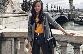 Tranh thủ trời mát mẻ, các quý cô Châu Á đồng loạt diện blazer xuống phố trong street style tuần này