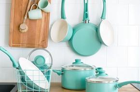 Những món phụ kiện bếp đẹp đến 'lịm tim' dành cho tín đồ gam màu pastel
