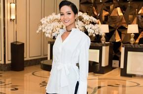 Hoa hậu H'Hen Niê bất ngờ đòi đi xe đạp về thăm quê nhà