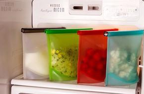 """Bí quyết hô biến tủ lạnh """"đầy lại vơi"""" nhờ sử dụng các loại túi đựng thức ăn an toàn này"""