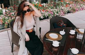Street style sao: Loạt sao Việt đã bắt đầu khoe dáng với áo phông, áo ba lỗ mát mẻ