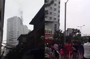 Hà Nội: Cháy căn hộ trên tầng 21 chung cư Văn Khê, nhiều người hốt hoảng tháo chạy