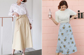 Cần gì đầu tư cầu kỳ, chân váy dài chính là 'bảo bối' hợp cả thời trang lẫn thời tiết dành cho nàng công sở