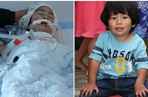 """Con trai 2 tuổi nhập viện khẩn cấp vì ho, sau khi chụp hình X-quang bác sĩ phát hiện sự thật kinh khủng khiến họ phải """"bó tay"""""""