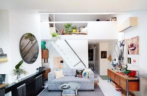 Diện tích nhà đôi khi sẽ chẳng còn quan trọng nếu bạn được sống ở một nơi xinh đẹp, hài hòa như căn hộ này