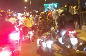 Bỏ lại xe máy, người phụ nữ nhảy cầu Nguyễn Văn Cừ tự vẫn
