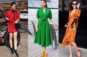 Hè chưa về mà các sao Việt đã lên đồ street style tưng bừng với sắc màu rực rỡ