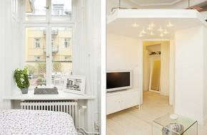 Chỉ vỏn vẹn 38m² nhưng căn hộ nhỏ ấm cúng này có không gian chứa được vô số đồ đạc