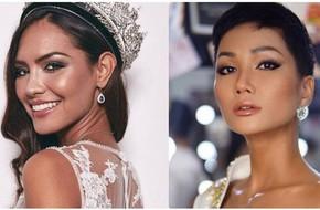 Đối thủ tại Miss Universe phản ứng thế nào khi nhìn thấy H'Hen Niê trong mái tóc mới?