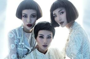 H'Hen Niê, Hoàng Thùy, Mâu Thủy khác lạ với tóc mái ngố