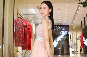 Angela Phương Trinh bất ngờ kín đáo, thanh lịch như quý cô