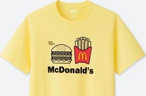 Uniqlo hợp tác với McDonald's ra mắt bộ áo phông siêu cute, mặc đi ăn sẽ được giảm giá 21.000 đồng