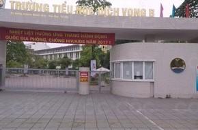 Hà Nội: Học sinh lớp 4 trường Dịch Vọng B rơi từ trên cao xuống đất