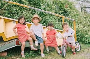 4 anh chị em họ ở 3 miền Bắc - Trung - Nam cùng thực hiện bộ ảnh 'đàn chuột con rong chơi' đẹp đến say lòng
