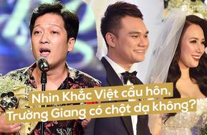 Trường Giang ơi, nhìn cách mà Khắc Việt cầu hôn và cưới DJ Thanh Thảo, anh có nghĩ mình đã làm Nhã Phương buồn không?