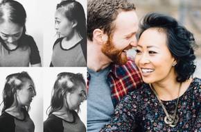 Tình yêu cảm động người phụ nữ gốc Việt: Nhờ rụng sạch tóc trên đầu mà nhận ra được chân tình của người đàn ông bên cạnh
