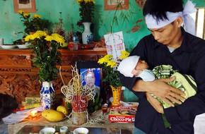Người mẹ trẻ bị sét đánh tử vong: Con trai 45 ngày tuổi liên tục mớm miệng tìm sữa mẹ