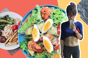 Mẹ trẻ 8X giảm 8kg sau 9 tuần chia sẻ thực đơn ăn kiêng siêu hấp dẫn