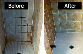 Gạch ốp nhà tắm ố vàng, đen kịt đến thế nào cũng sẽ trắng sạch ngay lập tức chỉ với một chai xịt này