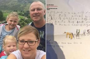 Kiểm tra bài tập về nhà của con, mẹ rụng rời chân tay khi nhìn thấy dòng chữ con viết về gia đình