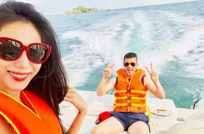 Gia đình sao Việt ngày nghỉ lễ: Người ra khơi với du thuyền, kẻ vào bếp đãi vợ con