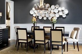 Trang trí tường bằng đĩa vừa rẻ vừa dễ, lại có thể kết hợp được với bất cứ dạng nội thất nào, tại sao bạn không thử?