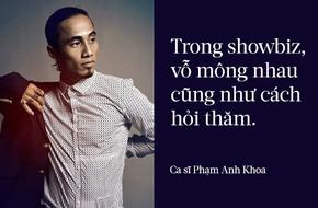 Phạm Anh Khoa gây sốc khi nói về văn hóa
