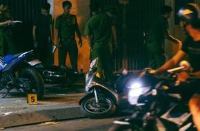 Hiện trường vụ án mạng kinh hoàng trên đường CMT8 khiến 6 hiệp sĩ đường phố bị băng cướp đâm thương vong