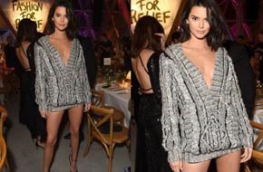 Diện độc 1 chiếc áo len, Kendall Jenner chứng tỏ đẳng cấp khi mặc không hề phô mà còn khoe khéo đôi chân dài
