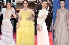 17 bộ váy đẹp nhất thảm đỏ Cannes 2018 thì ắt hơn chục bộ chỉ dành cho những nàng ngực