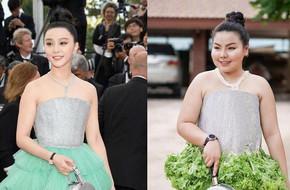 Bất ngờ với phản ứng của Phạm Băng Băng và Lý Thần khi bắt gặp cô gái Thái Lan 'cosplay' phong cách