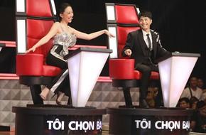 Giành thí sinh xinh đẹp, hát hay quyết liệt, Noo Phước Thịnh trách Tóc Tiên: