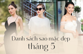 Chỉ diện đồ đen trắng nhưng loạt sao Việt này vẫn sang chảnh đầy thu hút trong top sao mặc đẹp tháng 5