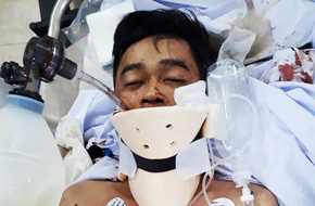 Bệnh viện quận Thủ Đức (TP.HCM) tìm người thân cho chàng trai bị tai nạn nguy kịch