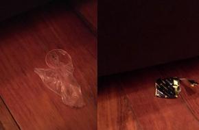 Khách vào cà phê phim làm chuyện ấy rồi giấu 'áo mưa' xuống gầm giường, nữ nhân viên nhặt được bức xúc đăng đàn kể khổ
