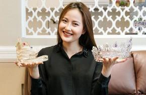 Đăng quang Hoa hậu Hoàn cầu 2017 chưa đầy 1 năm, Khánh Ngân đã