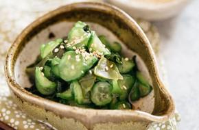 Học người Nhật làm salad dưa chuột ngon ngỡ ngàng