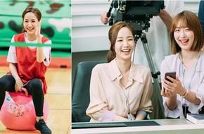 Park Min Young cười tít mắt cực đáng yêu trong hậu trường phim